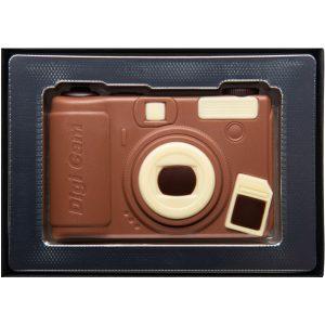 coffret appareil photo en chocolat bonbon caramel chocolat
