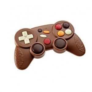 manette de jeu en chocolat dlys couleurs