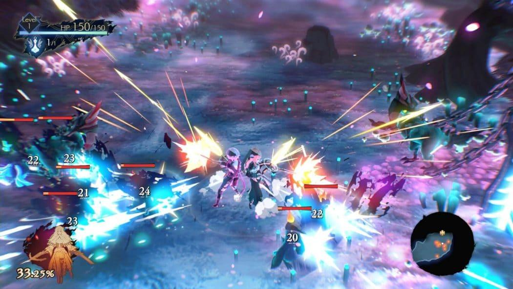 Oninaki action rpg square enix combat