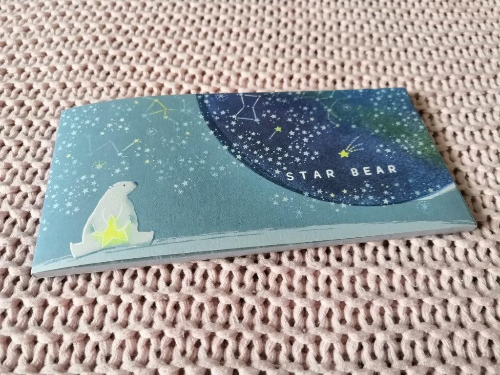bloc notes star bear Zenpop Pack Papeterie Stationnery février 2020 nuit étoilée