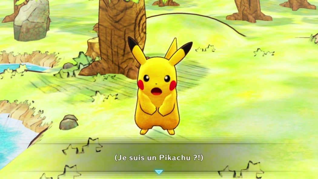 pikachu pokémon donjon mystère équipe de secours dx démo nintendo switch