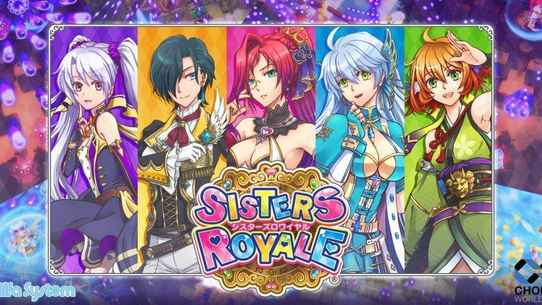 Sisters Royale jeu de tir shoot em up shmup Brown Betty Alfa System Nintendo Switch PS4