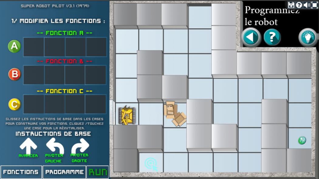 Le Prisonnier Quantique CEA énigme programmation robotique