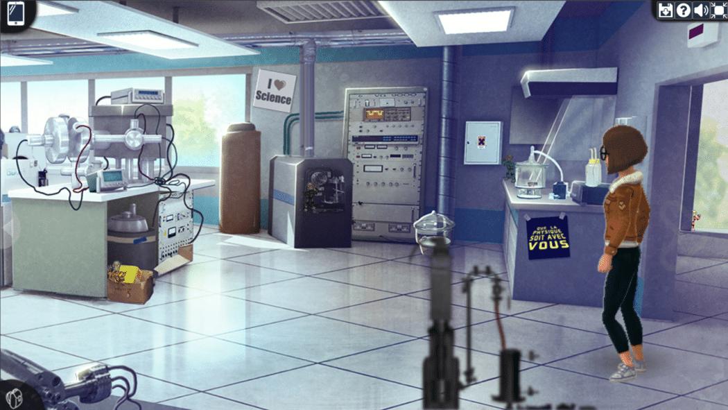 Le Prisonnier Quantique CEA laboratoire CEA références geek