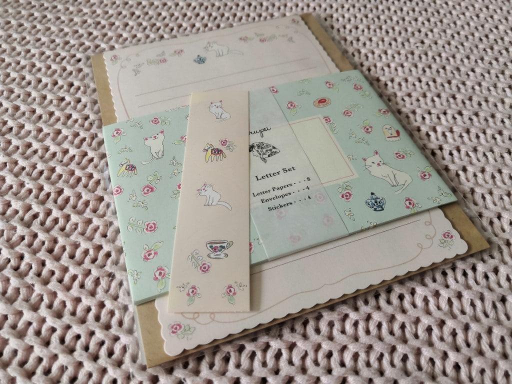 """Zenpop """"Monde Féérique"""" Pack Papeterie mars 2020 stationery pastel fairy tale set décriture papier lettres enveloppes harupei"""