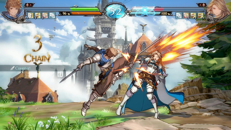 granblue fantasy versus jeu rpg combat gran katalina