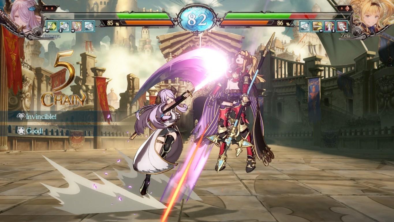granblue fantasy versus jeu rpg combat narmaya vs zeta