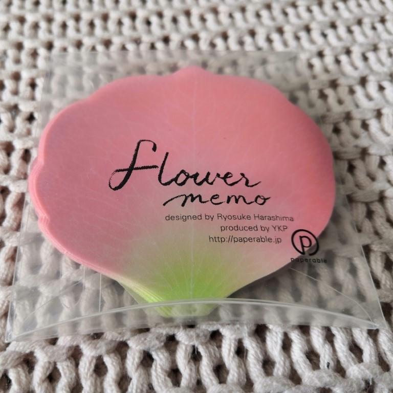 notes pétale fleur cerisier yamakoshi paperable box papeterie zenpop avril sakura