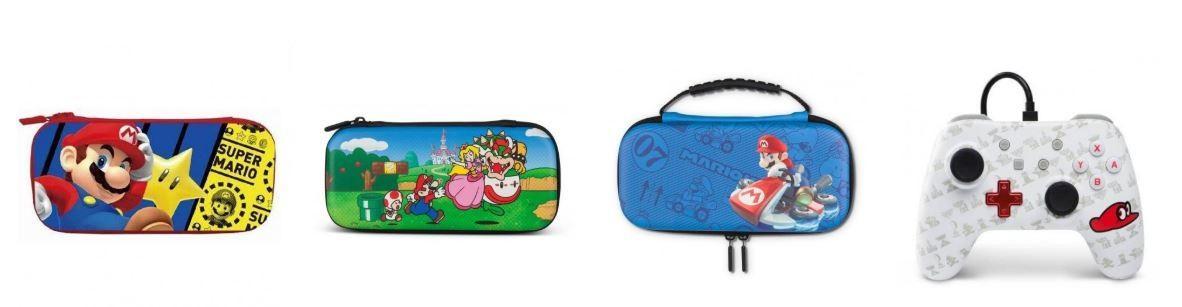 MarioDerive boutique super mario bros accessoires nintendo switch