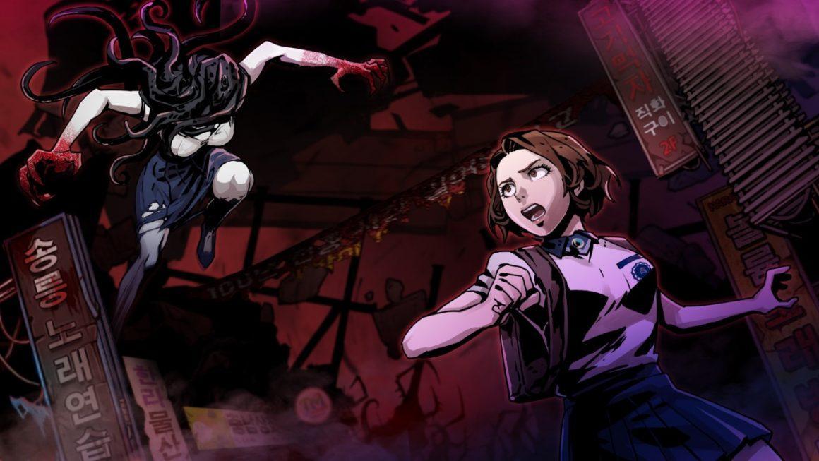 The Coma 2 : Vicious Sisters, Snake joue à Resident Evil avec Sadako