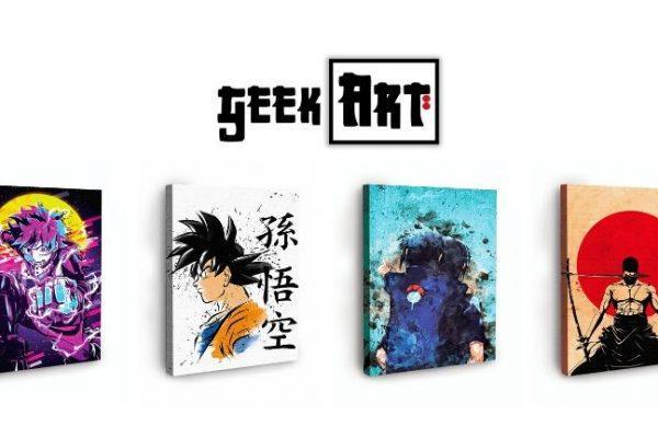 Geek Art : des tableaux manga de qualité imprimés sur toile !