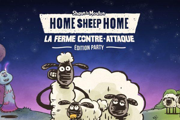 Home Sheep Home: La Ferme Contre-Attaque Édition Party ! Shaun le mouton s'amuse !