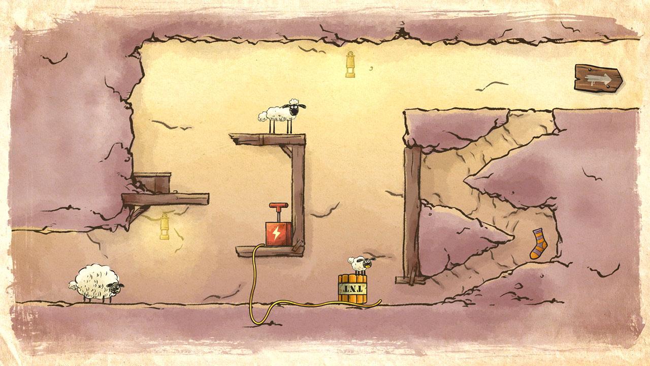 home sheep home farmageddon party edition switch party game jeu de réflexion mode histoire énigme
