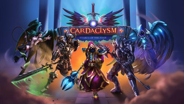 logo cardaclysm shards of the four steam jeu de cartes card game