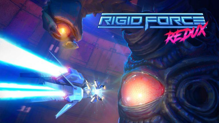 Rigid Force Redux : le shoot'em up old-school sans réduxtion