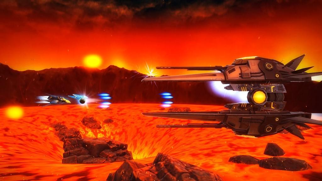 rigid force redux shoot em up vaisseau ennemi