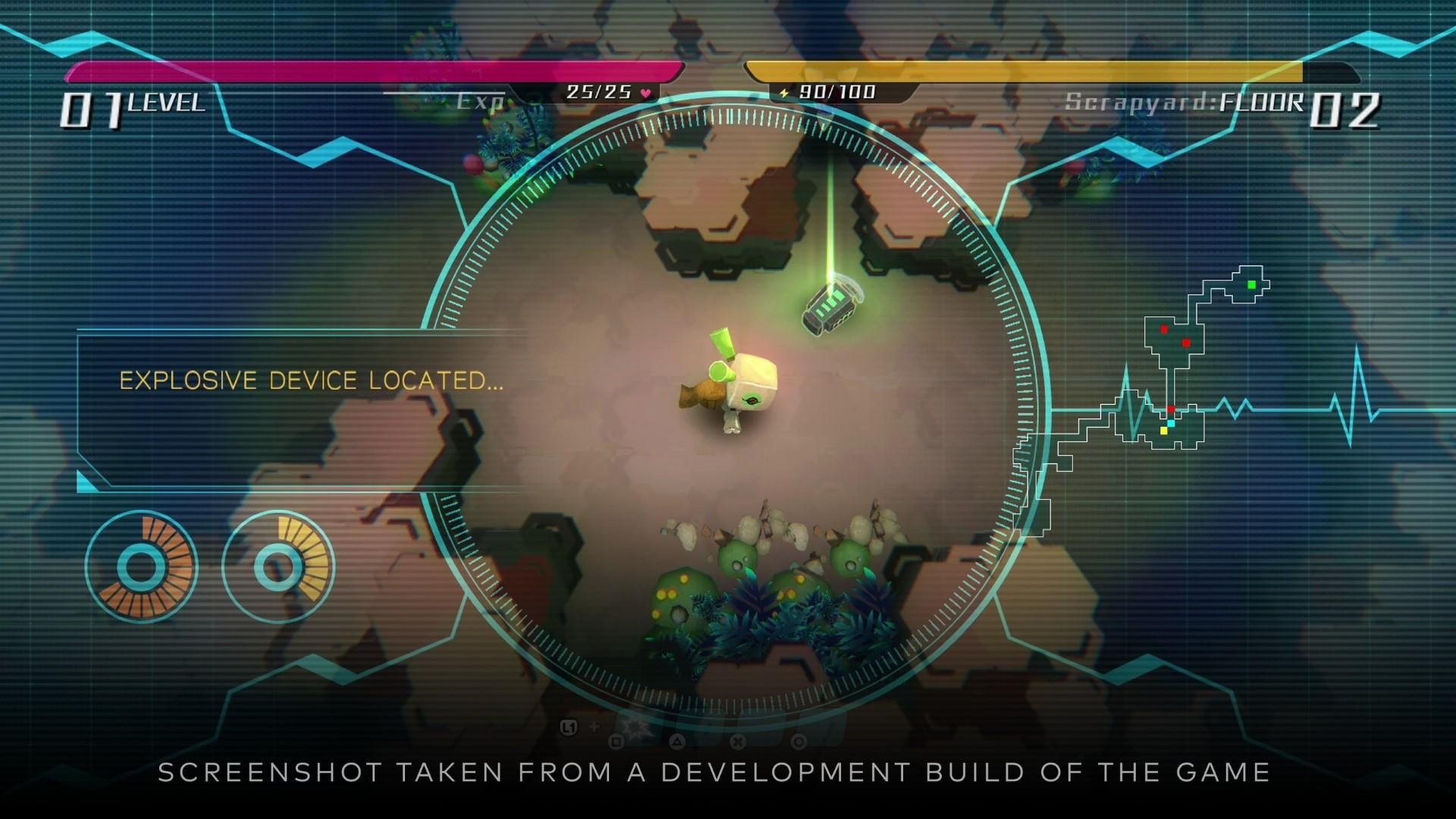 void terrarium roguelike ps robbie donjon combat