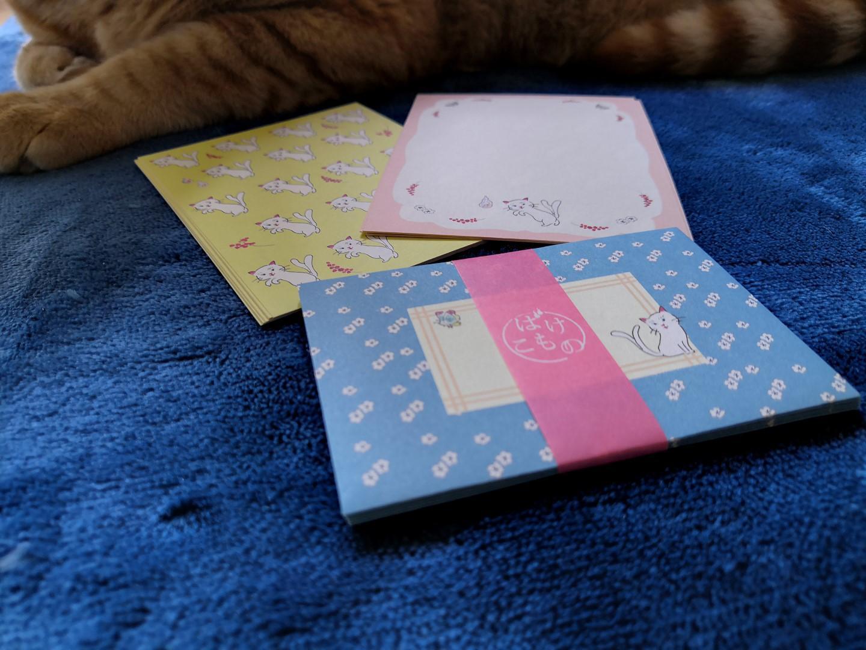 zenpop mignonneries halloween box papeterie japonaise kawaii mini set correspondance lettres nekomata