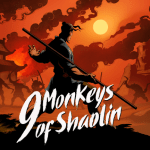 9 monkeys of shaolin key art