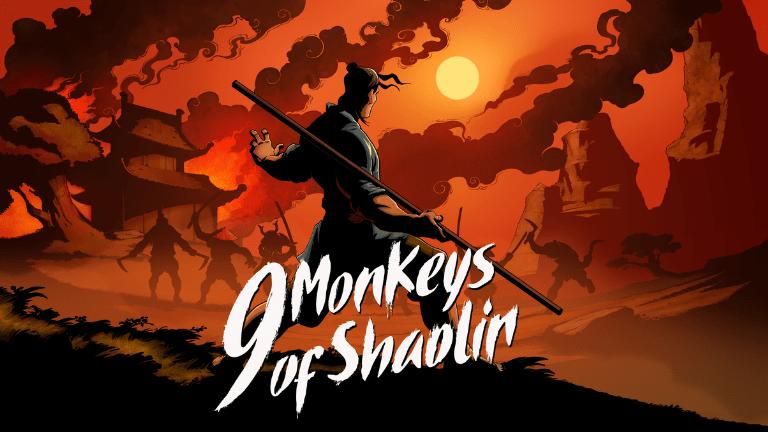 9 monkeys of shaolin key art