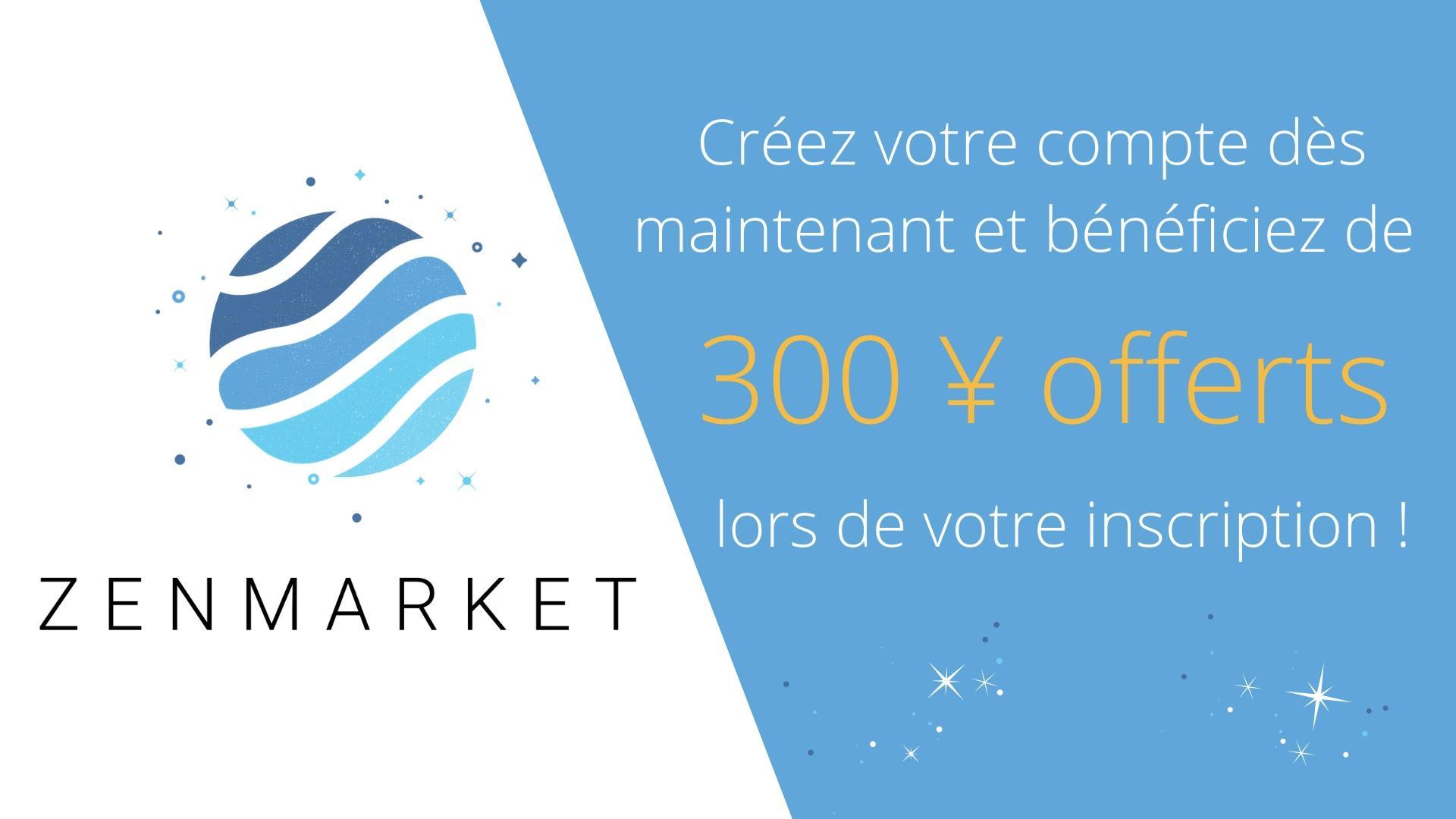 zenmarket offre yens creation compte