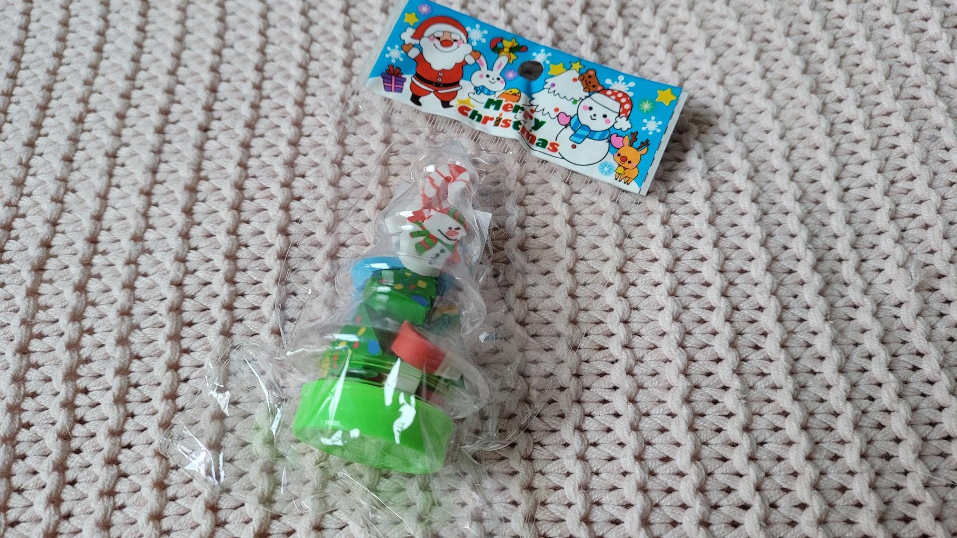 zenpop pack papeterie decembre mini gommes noel