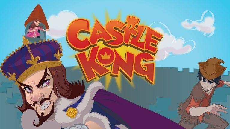 Castle Kong, un parfait hommage au roi de l'arcade