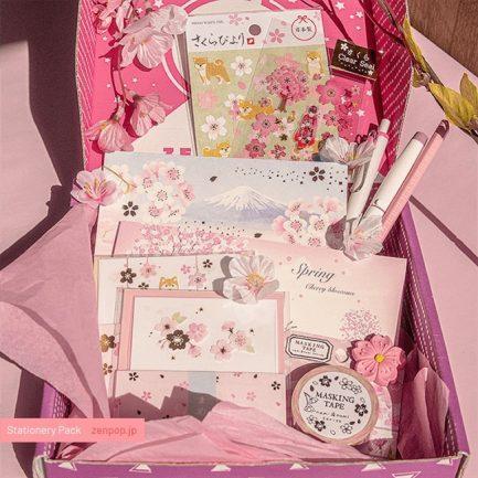 zenpop pack papeterie kawaii reves de sakura