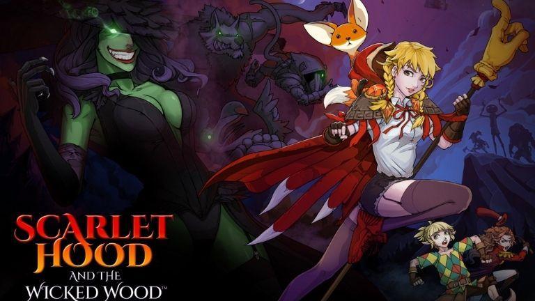Scarlet Hood and the Wicked Wood : loup, y es-tu ?