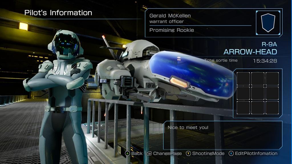 r type final pilot information