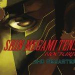 shin megami tensei nocturne hd remaster key art