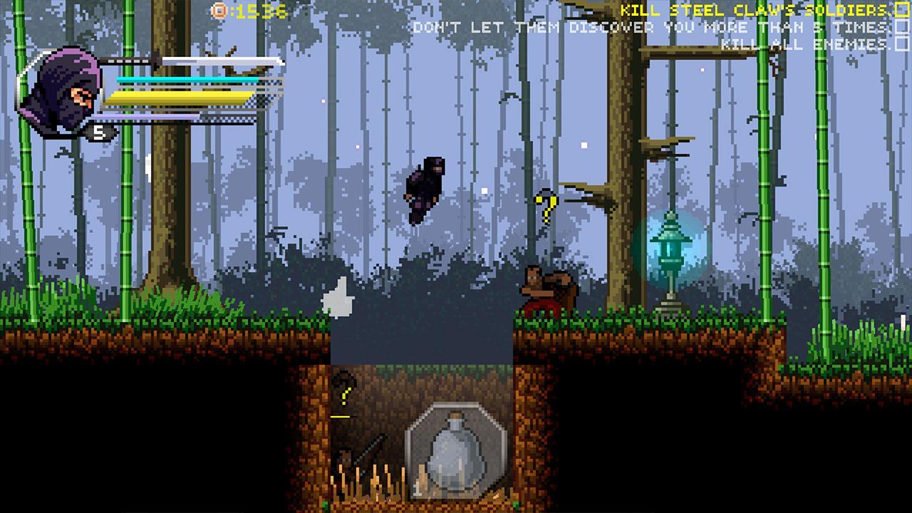 within the blade ninja jump